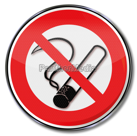 verbotszeichen rauchen