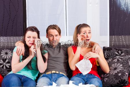 see friends a sad movie on