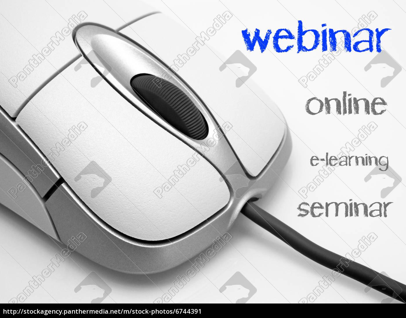 webinar, -, online, e-learning, seminar - 6744391