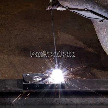 welding scenery