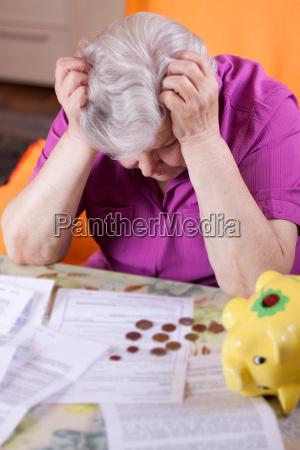 senior has money shortage