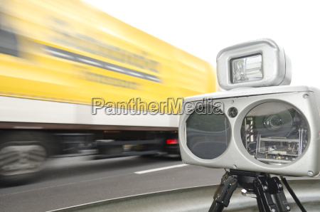 speed control with camera