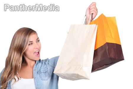 einkaufen shoppen shopping kaufen tuete einkauf