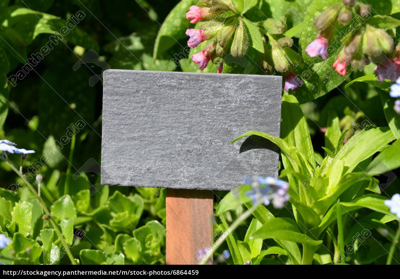 Tafel Frische Krauter Garten Stockfoto 6864459 Bildagentur