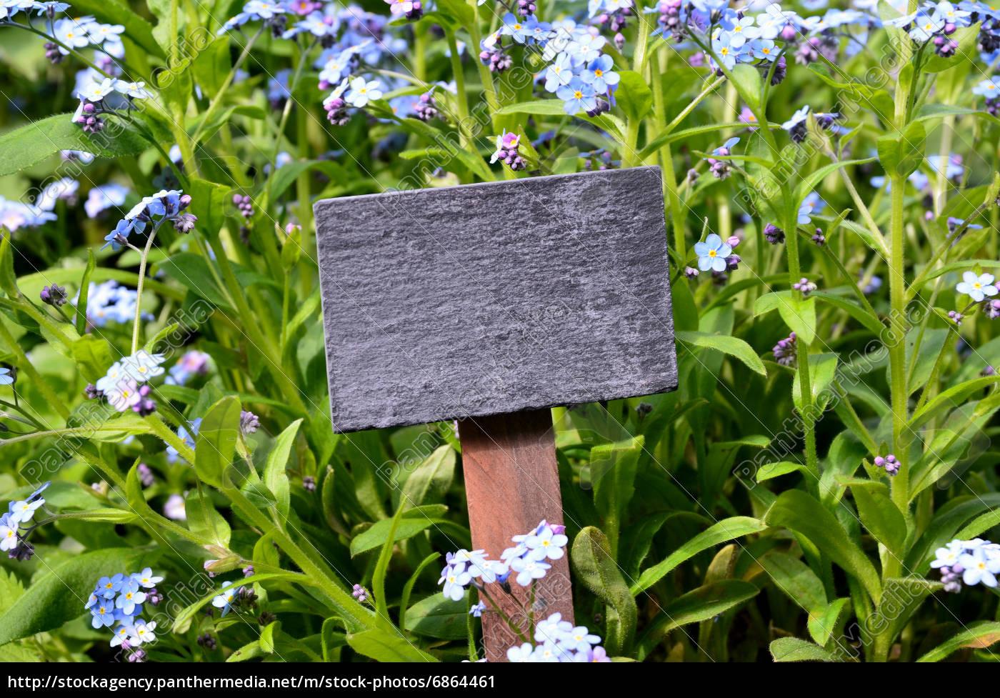 Tafel Frische Krauter Garten Lizenzfreies Bild 6864461