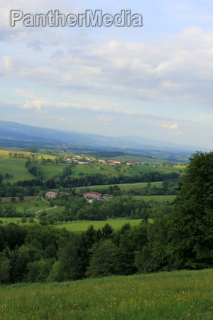 view north from the buchberg in