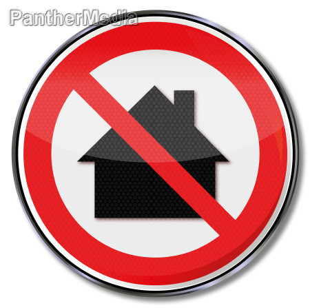 sign nit in a residential area