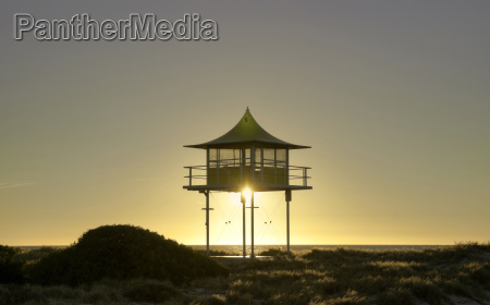 surf life savers lookout sunset