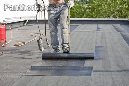 ein dach decken