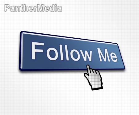 geklickt follow me button