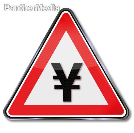 sign yen