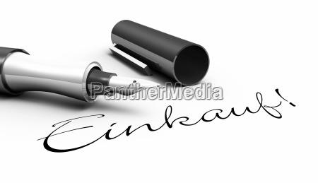 shopping pen concept