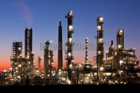 raffinerie in schleswig holstein in der