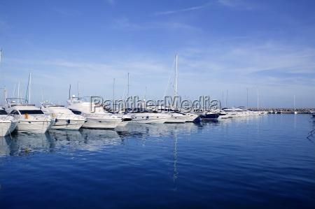 mallorca puerto portals hafen hafen yachthafen