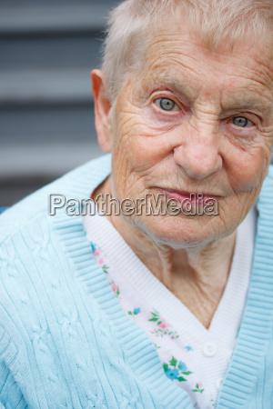 retrato de la senyora mayor