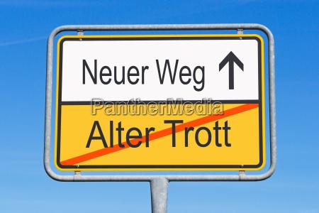 age trott and neuer weg