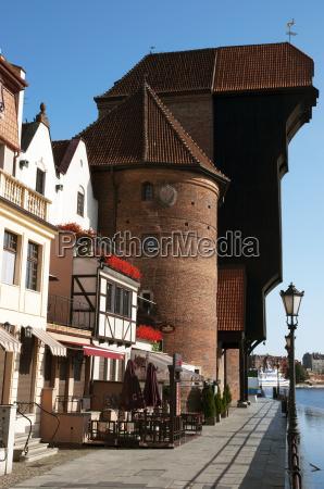 the crane gate in gdansk