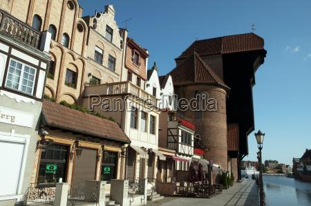 the crane in gdansk gdansk