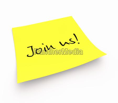notizzettel join us