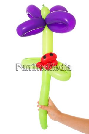 blume aus luftballons