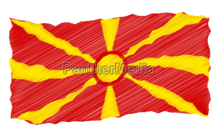 skizze mazedonien