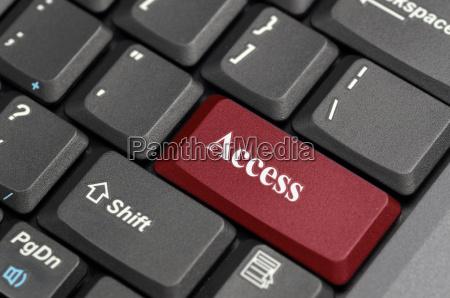 zugriff auf tastatur