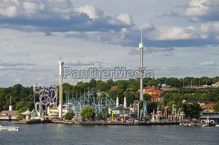 amusement park groena lund in stockholm