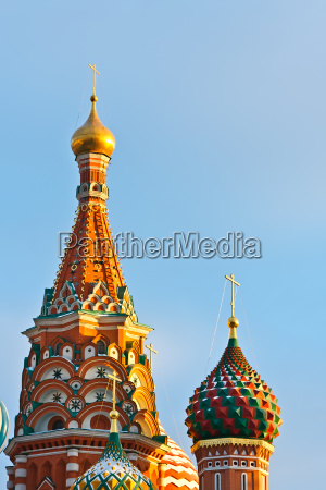 cupola of saint basils cathedral