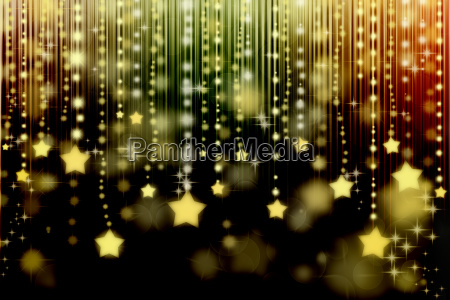 stars on abstract background