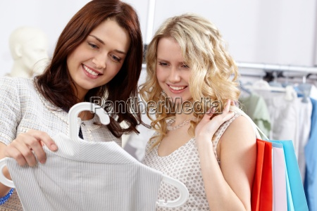 two shoppers