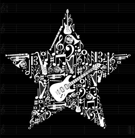 music star hintergrund