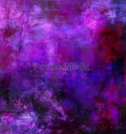 pink purple blue painting