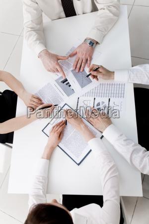 discussing plan