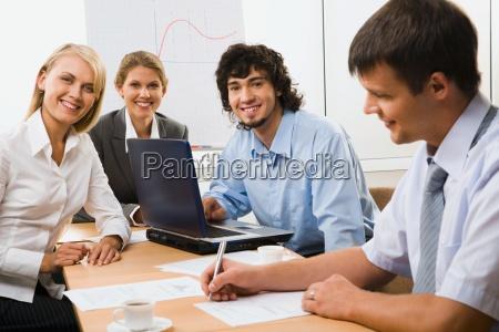 gut organisierte partner