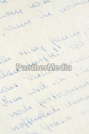 handschrift - 7221231