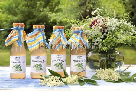 elderflower syrup