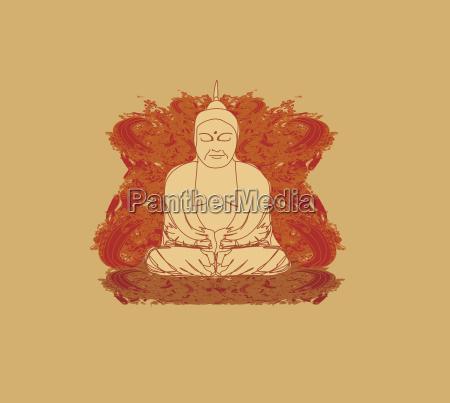vektor des traditionellen chinesischen buddhismus buddhismus