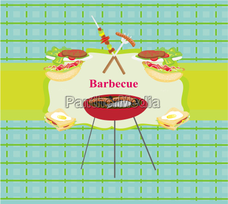 barbecue party einladung