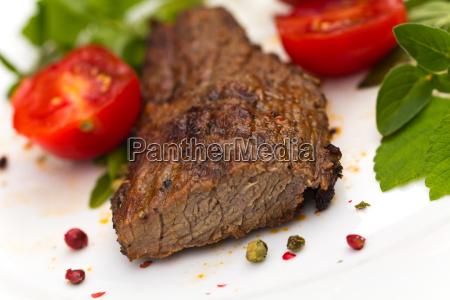grill steak hueftsteak rind beef steak
