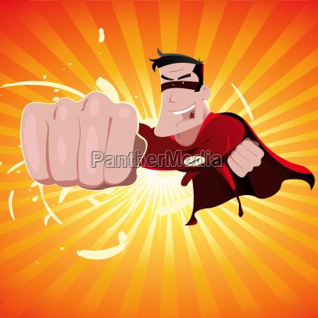 super hero male