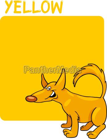 bildung ausbildung bildungswesen farbe hund illustration