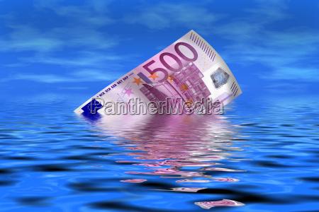 500 euro gehen unter
