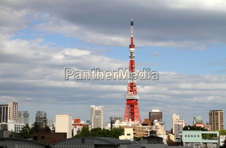 tokyo cityscape japan
