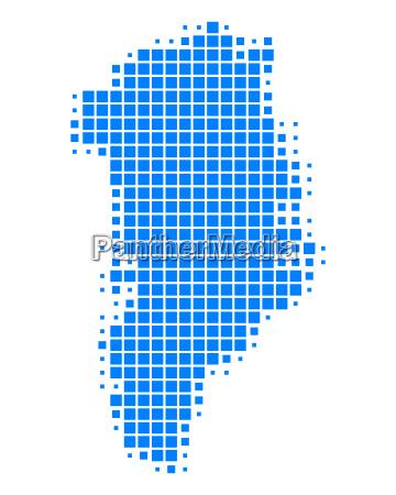 karte von groenland