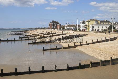 strand england dachschindel salzwasser see ocean