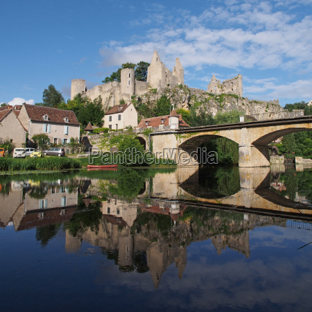 angles sur anglin vienne france