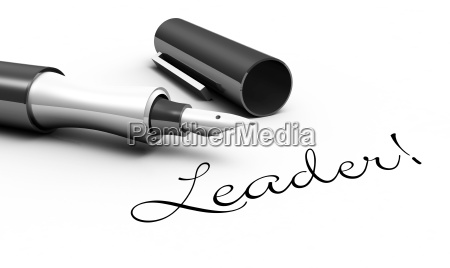 leader pen concept