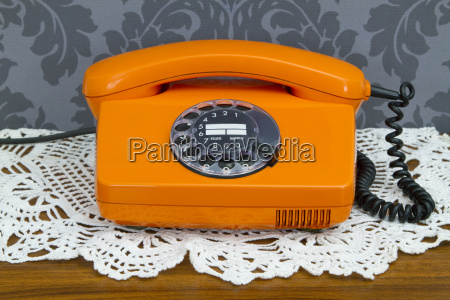 retro telefonapparat