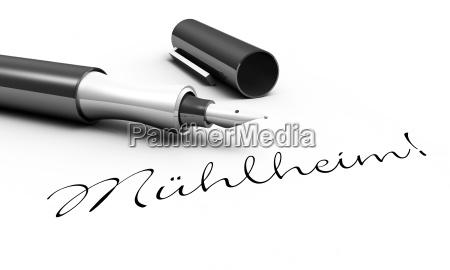 muehlheim pen concept