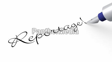 pen concept reportage